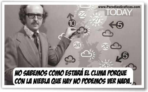 LOS ANTIGUOS REPORTES DEL CLIMA EN TV